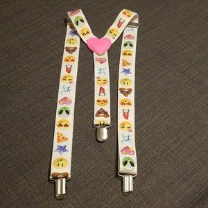 2 FOR 15 Emoji Suspenders